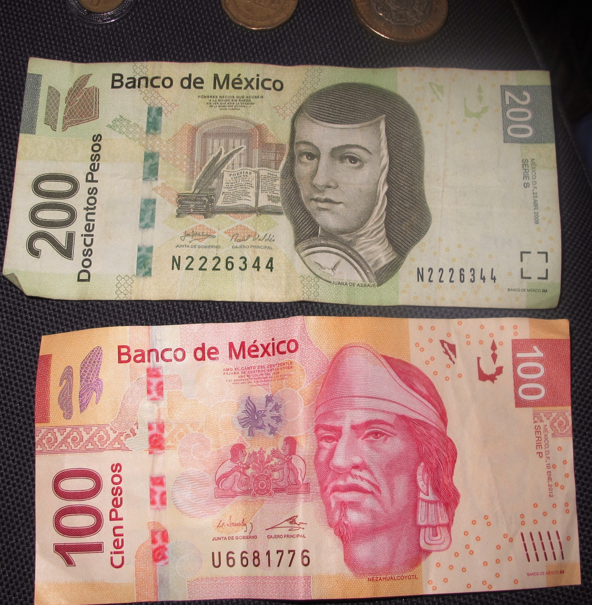 Moneda Peso Mexicano